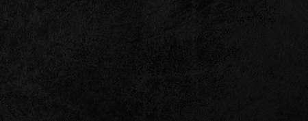 Panorama of Dark grey black slate background or texture. Black granite slabs background Standard-Bild