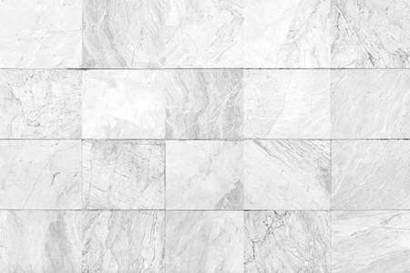 White granite tiled wall with vintage pattern texture and background seamless Standard-Bild