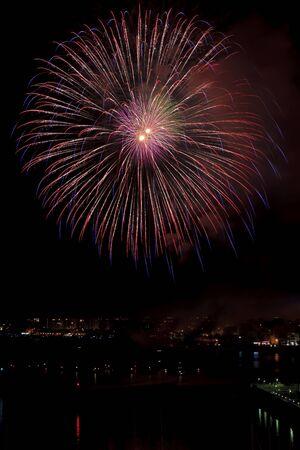 fib: fireworks Stock Photo