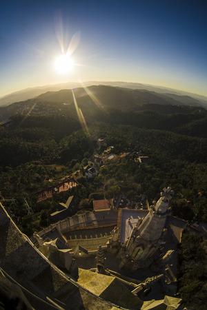 Sunset over Catalonia