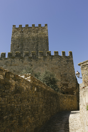 Scenery of Peratallada, Costa Brava