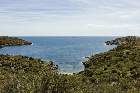Hiking from Cadaqu�s to Cap de Creus. The region, where Salvador Dal� lived and that he often showed in his paintings.