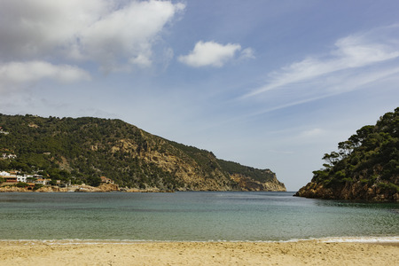 At Camí de Ronda near Begur in Costa Brava region, Spain