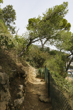 At Cam? de Ronda near Begur in Costa Brava region, Spain