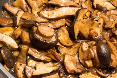 Fried mixed mushrooms Фото со стока