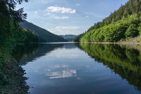 Hohenwarte 인공 호수