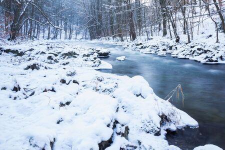 Blacka valley in winter Фото со стока
