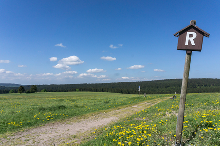 Thuringian Forest Rennsteig