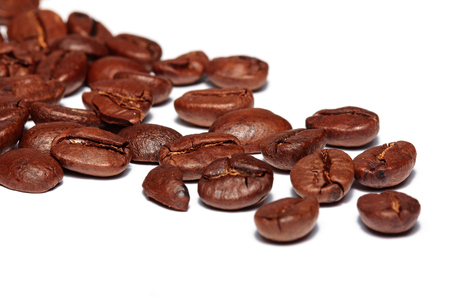 Coffee with white background