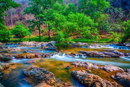 waterfall in chiang mai