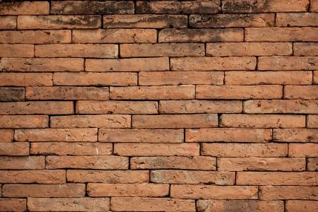 brickwork: Red brick wall texture grunge background