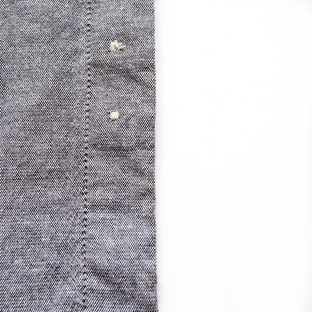 Texture of shirt on white background photo