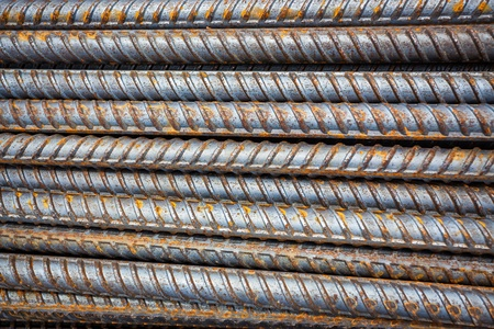 reinforcing bar: Reinforcing steel bars for building armature