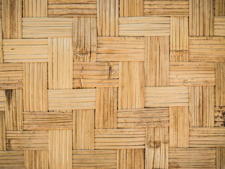 handwork: Bamboo wood texture ,Thai handwork