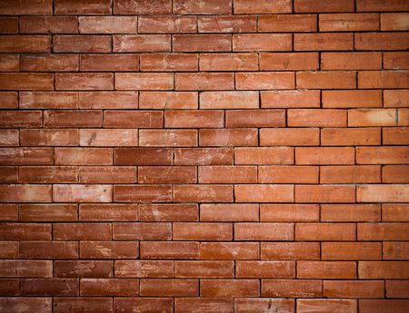 old red brick wall textured photo