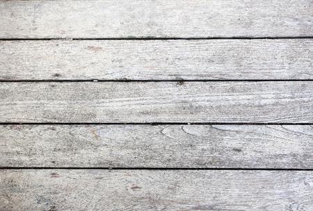 Grunge white wood background