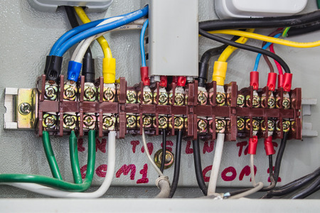 electronic control and Industrial power case photo