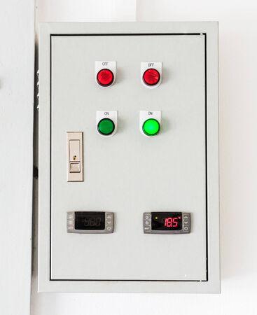 control box: Electrical control box