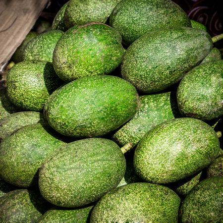 thialand: avocado fruit in local market at thialand