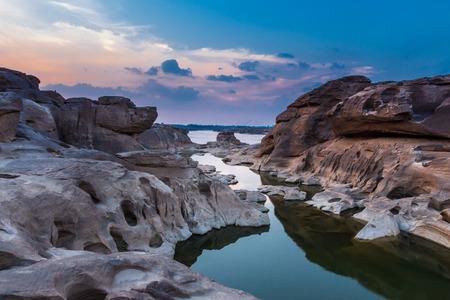 amazing sam phan bok and grand canyon Ubon, Thailand. photo