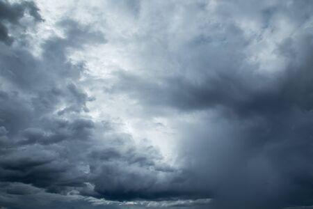 Rainclouds or Nimbus in rainy season