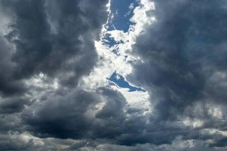 nimbus: Rainclouds or Nimbus in rainy season