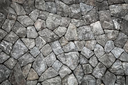 石の壁の背景と空間を持つテクスチャー