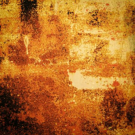 抽象的なハロウィーン グランジさびた鉄テクスチャと背景