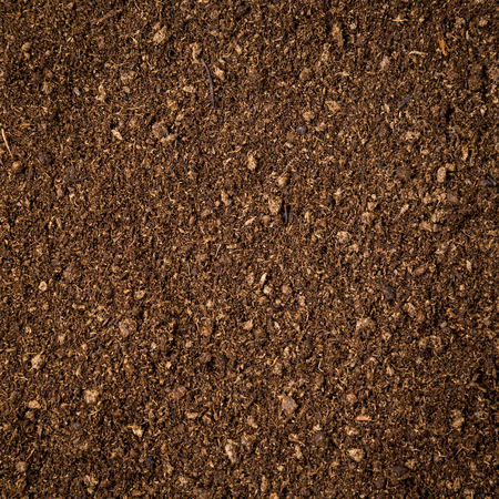 soil texture: close up soil peat moss dirty background and texture
