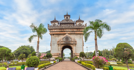 literally: Patuxai literally meaning Victory Gate in Vientiane,Laos