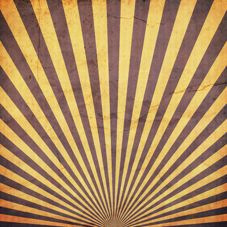 duplicate: sunburst retro background and duplicate old paper texture Stock Photo