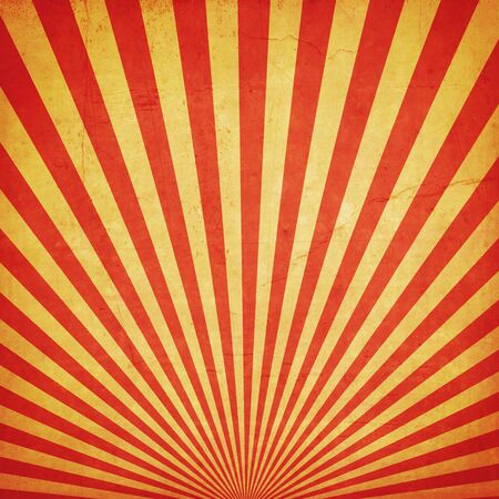 circus: sunburst retro background and duplicate grunge texture