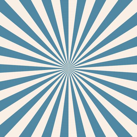 White and blue sunburst pattern background