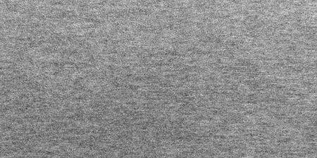 Panorama graue Stoffbeschaffenheit und Hintergrund mit Kopienraum. Standard-Bild