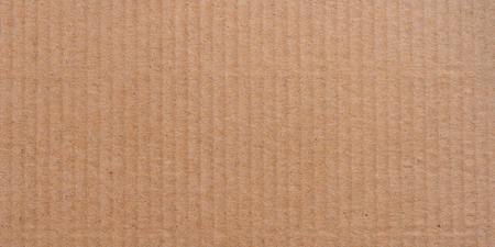 Panorama brown paper box surface texture and background with copy space.