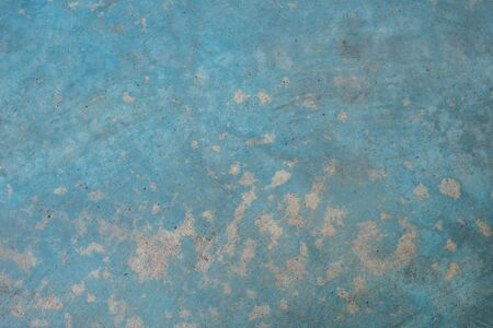 concrete blue wall texture and background with copy space