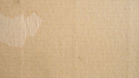 Panorama brown paper surface texture and background with copy space Фото со стока - 128413934