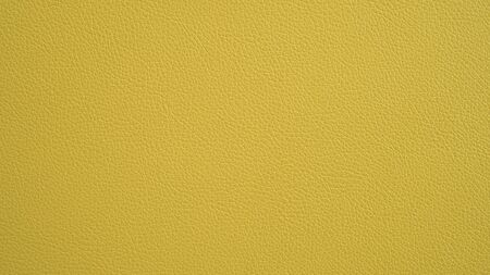 Texture of grunge panorama yellow leather. Yellow background. Фото со стока - 128413955