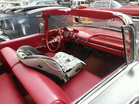 caddie: Old car Stock Photo