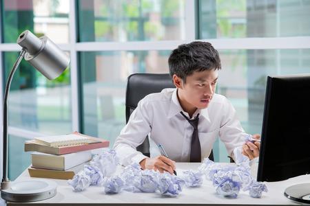 Werknemers denken en werken niet met stress