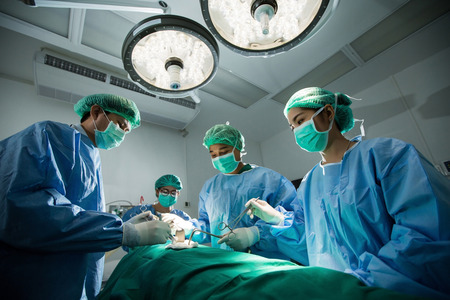 The doctors and nurses brainstorm power assisted surgery