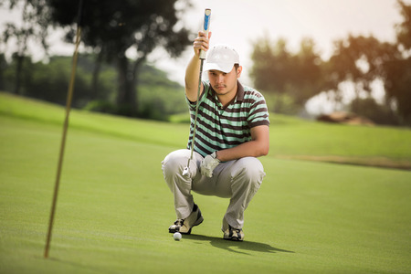 Golf clubs direct measure of the field. To Putting