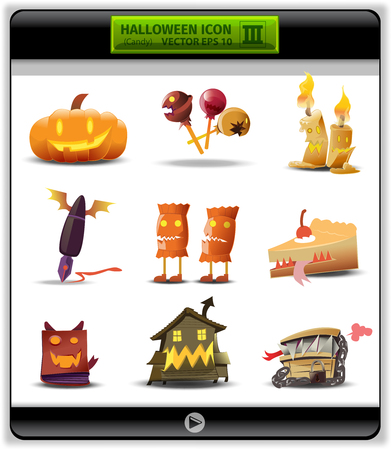 general knowledge: Halloween color icon 3. candy collection is about devil in candy and general devil.in these day candy will change devil and people should have knowledge for eaten it, lollipop, candy and cake devil.