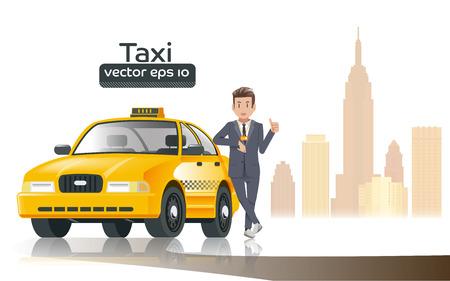 legitimate: Taxi driver in the city. Profession of faith is legitimate. Professional in the driving car.