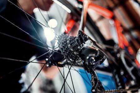 전문 기술을 가진 전문 기술 자전거 샵