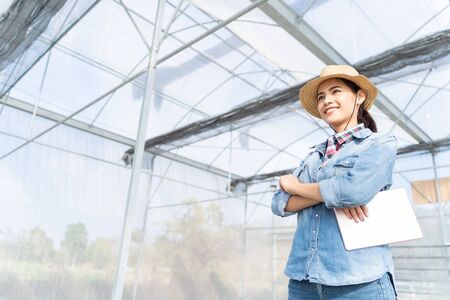 Farmers and greenhouses because a thousand seeds she is starting