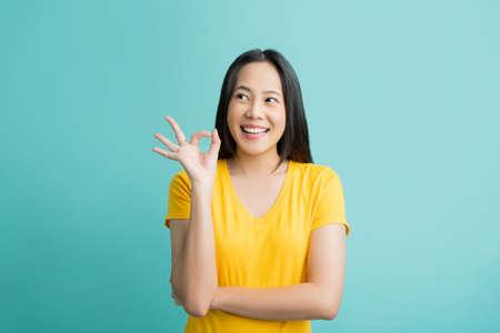Asian women make a