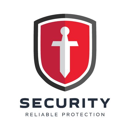 Security company logo ready to use. Abstract symbol of securit. Shield logo. Shield icon. Stock Vector - 70075000