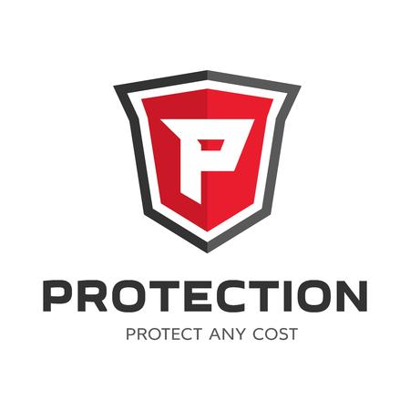 security logo: Security company logo ready to use. Abstract symbol of security. Shield logo. Shield icon. Security logo.