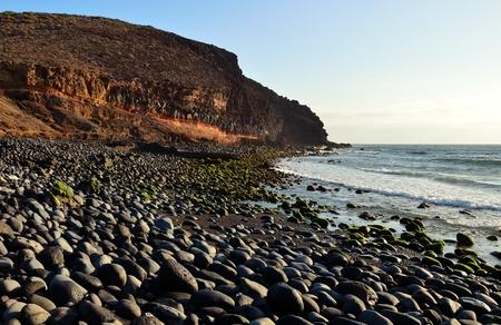Vargas beach, Gran canaria, Canary islands photo